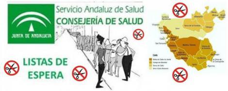 Listas de espera: 700 profesionales menos y 1.800 pacientes más en Cádiz.