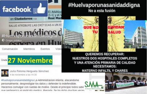 Huelva, por una sanidad digna llama a una manifestación para el día 27.