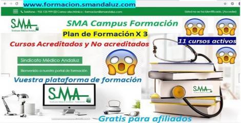SMA Campus Formación: Activamos 11 cursos en nuestro Plan de Formación x 3.
