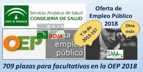 El BOJA publica hoy el decreto con la nueva oferta pública de empleo del SAS de 2018.