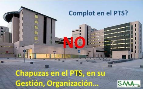 """El personal del Hospital de Granada, indignado tras ser acusado de """"complot"""" por la gerencia."""