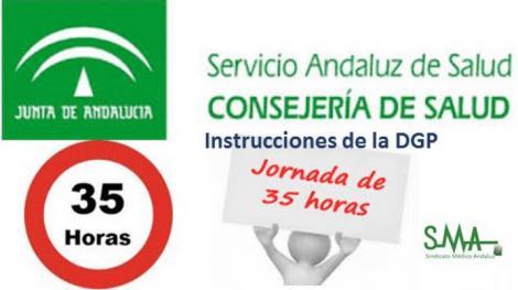 El SAS envía instrucciones a los Centros para la vuelta a las 35 h  semanales.