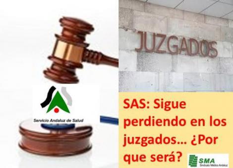 Siguen las sentencias judiciales contra el SAS: un juez le obliga a reconocer y pagar el nivel 5 de carrera profesional.