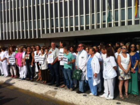 El Sindicato Médico de Sevilla reclama medidas para garantizar la seguridad en torno al Hospital de Valme.