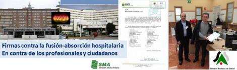 """Rechazo de los Facultativos del Macarena a la """"fusión"""" que consideran perjudicial para la accesibilidad y calidad de la asistencia."""