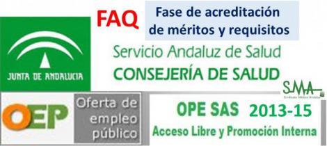 Preguntas y respuestas frecuentes OEP 2013-2015: Fase de acreditación de méritos y requisitos.