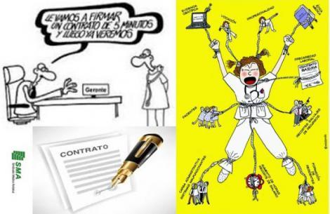 Precariedad laboral y fraude en las administraciones: Soy cirujana en la sanidad pública y he firmado 5 contratos en 7 meses.