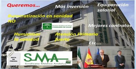 El SMA valora positivamente las declaraciones de Aguirre y se muestra partidario de un examen extraordinario del MIR.