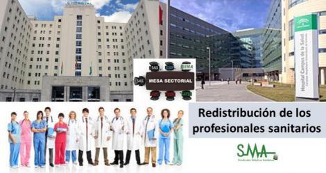 Mesa Sectorial el viernes para negociar la redistribución de efectivos en Granada, tras derogar la fusión hospitalaria.