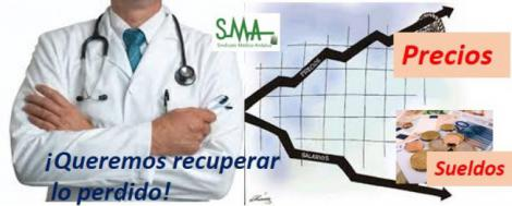 El salario del médico apenas ha aumentado en 1.000 euros anuales en los últimos tres años.