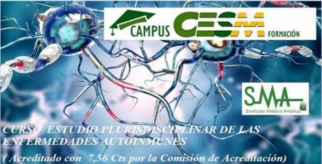 Curso CampusCESM. Estudio Pluridisciplinar de las Enfermedades Autoinmunes.