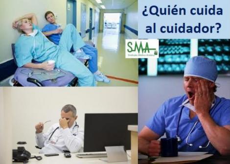 Estrés, agotamiento y depresión: nuestros médicos también están enfermos.