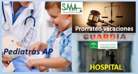 El SAS incumple las sentencias sobre el prorrateo de guardias de los pediatras EBAP que hacen guardias en hospital.
