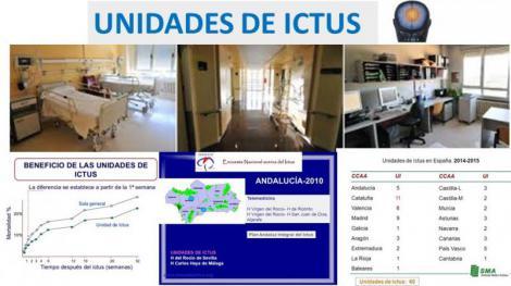 Y seguimos a la cola de España... La eficacia de la atención en caso de ictus depende de dónde se viva.