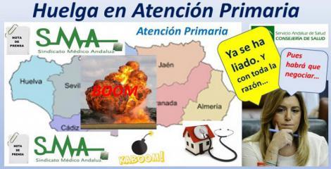 El SMA convocará huelga médica en Atención Primaria a partir del 27 de Noviembre.