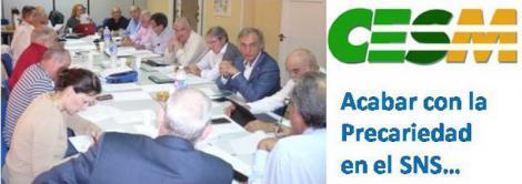 CESM propone un plan coordinado en todo el SNS para acabar con la precariedad y la temporalidad del empleo médico.