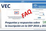 FAQ Inscrip